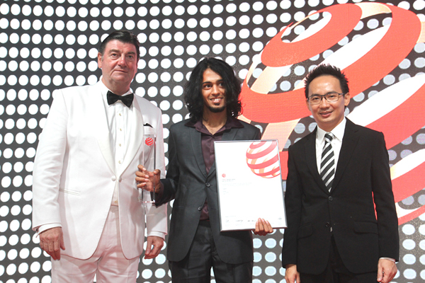 Product Design - Anurag Sarda on receiving the Red dot Award – Best of the Best