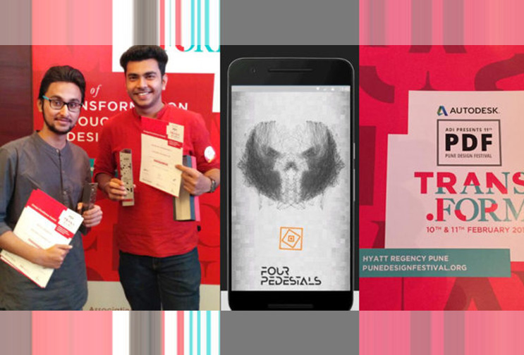MITID Students Win Student Design Competition at Pune Design Festival 2017